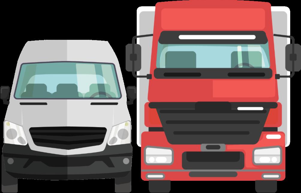 varebil og truck